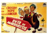 Road to Morocco  Spanish Movie Poster  1942