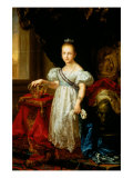 Portrait of Isabella II