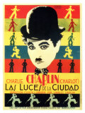 City Lights  Spanish Movie Poster  1931