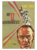 12 Angry Men  German Movie Poster  1957