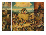 Triptych of the Haywain  Open