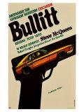 Bullitt  Polish Movie Poster  1968