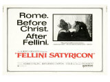 Fellini Satyricon  UK Movie Poster  1969