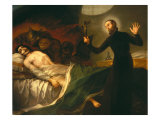 Saint Francis Borgia Tending a Dying Man