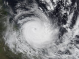 Severe Tropical Cyclone Hamish in the South Pacific Ocean