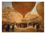The Minister Gambetta on the Hot-Air Balloon October 7  1870