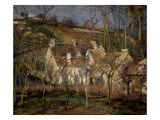 Les Toits Rouges  Coin de Village  Effet d'Hiver (The Red Roofs  View of a Village in Winter)  1877