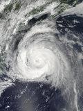 Hurricane Bill Off the East Coast