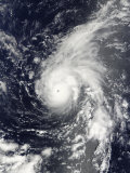 Typhoon Vamco in the Pacific Ocean