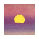 Sunset  c1972 (pink  purple  yellow)