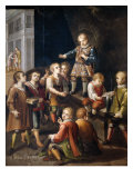 Saint Louis Gonzaga and children  1621