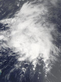 Tropical Storm Danny Off the Bahamas