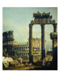 Roman Caprice with the Colosseum
