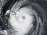 Typhoon Chaba in the Western Pacific Ocean