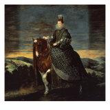 Equestrian Portrait of Margarita d'Austria