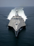 The Littoral Combat Ship Independence Underway During Builder's Trials in the Gulf of Mexico