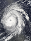 Hurricane Bill in the Atlantic Ocean