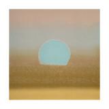 Sunset  c1972 (gold  blue)