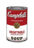 Campbell's Soup I: Vegetable  c1968