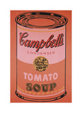 Campbell's Soup Can  c1965 (Orange)