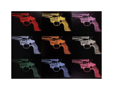Gun  c1982 (many/rainbow)