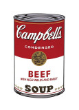 Campbell's Soup I: Beef  c1968
