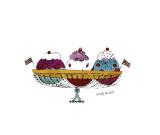 Ice Cream Dessert, c.1959 (Three Scoops) Giclée par Andy Warhol