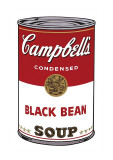 Campbell's Soup I: Black Bean  c1968