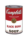 Campbell&#39;s Soup I: Black Bean  c1968