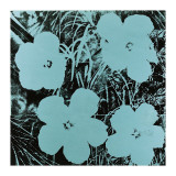 Flowers  c1967 (Blue)