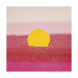 Sunset  c1972 (hot pink  pink  yellow)