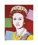 Reigning Queens: Queen Elizabeth II of the United Kingdom  c1985 (Dark Outline)