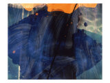 Abstract Image in Blue and Orange