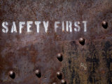 White Pine County  East Ely  Nevada Northern Railway Museum  Safety First on Side of Rail Stock