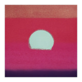 Sunset  c1972 (hot pink  purple  red  blue)