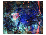 Abstract Image in Blue