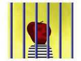 A Single Apple Behind Bars