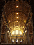 Inside St Peter's Basilica  Vatican City  Italy