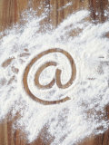 @&#39; Symbol in Flour