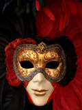 Ornate Mask  Venice  Italy