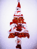 Christmas Tree Made from Teddy Bears