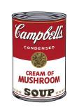 Campbell's Soup I: Cream of Mushroom  c1968
