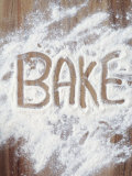 Word Bake in Flour