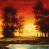 Lumière du soir II Reproduction d'art par Neil Thomas