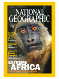 Cover of the March  2001 Issue of National Geographic Magazine