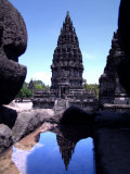 Temples in Prambanan  Indonesia
