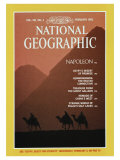 Cover of the February  1982 Issue of National Geographic Magazine