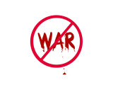 Symbol  No War with Drops of Blood