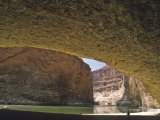 Redwall Cavern on the Shores of the Colorado River