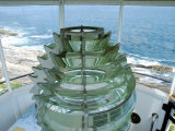 Fourth Order Fresnel Lens in the Pemaquid Lighthouse and Maine Coast